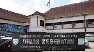 kantor dinas kesehatan sumatera selatan