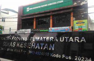 Dinas Kesehatan sumatera utara